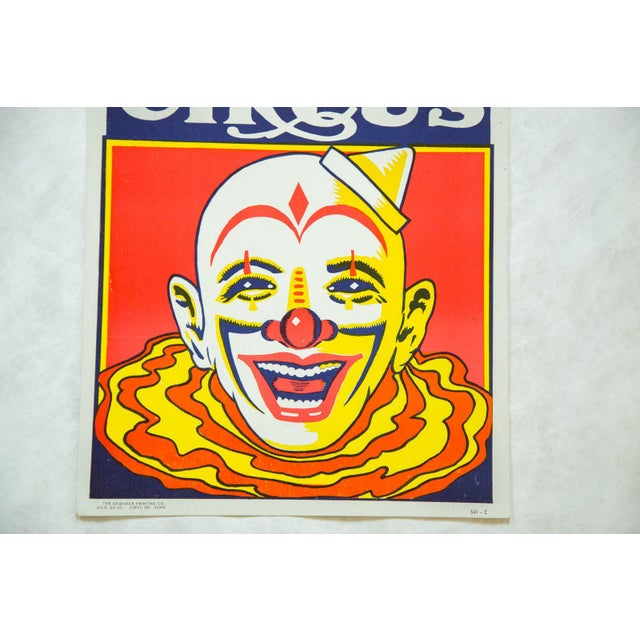 Children's Vintage Roberts Bros Circus Poster For Sale - Image 3 of 4