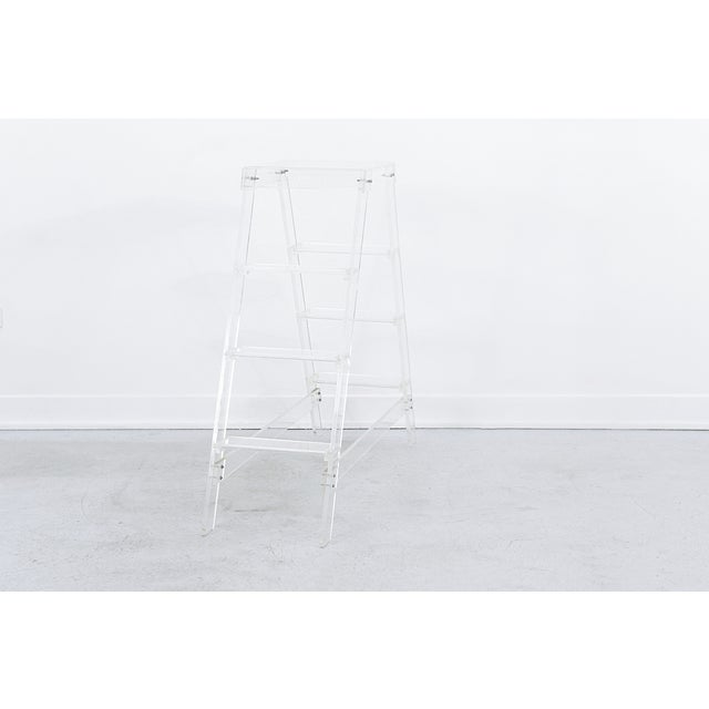 Lucite Ladder For Sale - Image 4 of 7