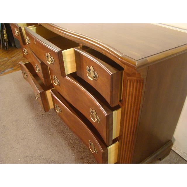 1990s 1990s Traditional American Drew Cherry Dresser For Sale - Image 5 of 8
