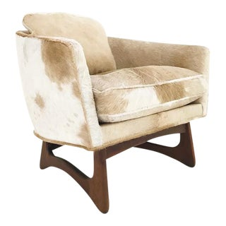 Forsyth One of a Kind Adrian Pearsall for Craft Associates Lounge Chair in Brazilian Cowhide