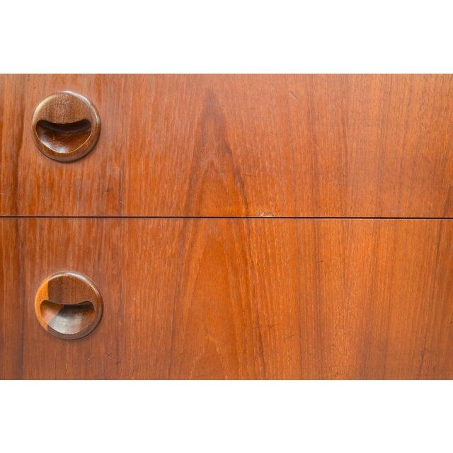 Kai Kristiansen Danish Teak Bow-Front Dresser - Image 7 of 11
