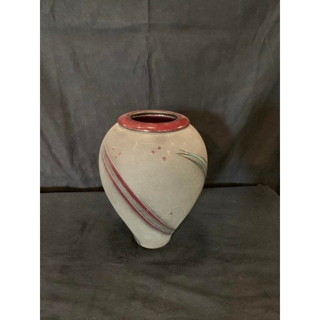 Arts & Crafts Michael Cho Studio Pottery Vessel For Sale - Image 3 of 6
