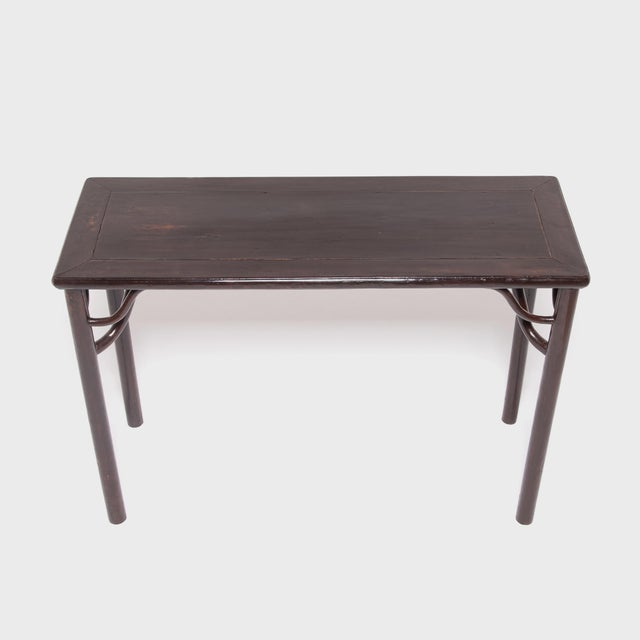 Mid 19th Century 19th Century Chinese Literati Wine Table For Sale - Image 5 of 7