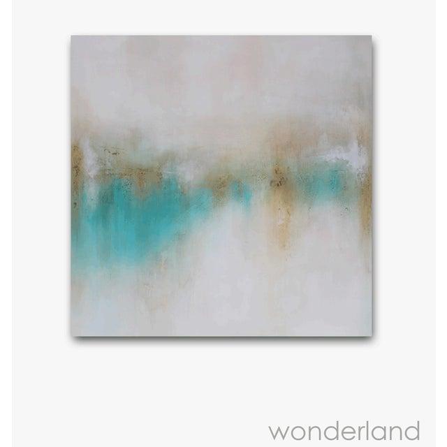 """Wonderland"" Original Abstract Painting - Image 2 of 2"