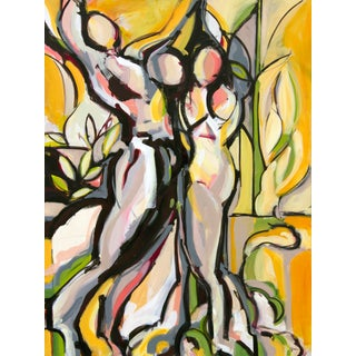 The Dance IV Painting by Heidi Lanino For Sale