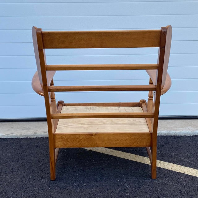 Mid 20th Century Heywood Wakefield Lounge Chair For Sale - Image 5 of 13