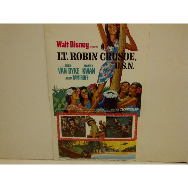 """Lt. Robin Crusoe, U.S.N."" Vintage Movie Poster For Sale - Image 5 of 5"