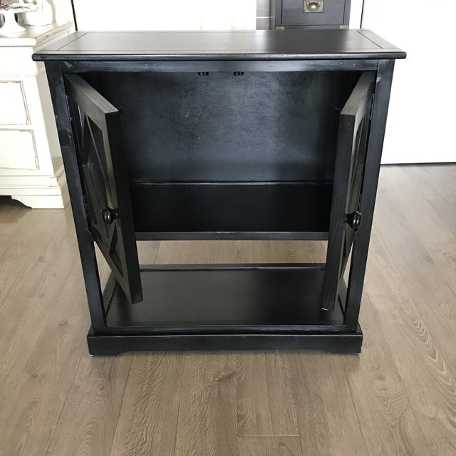 Black Contemporary Entryway Cabinet - Image 4 of 6