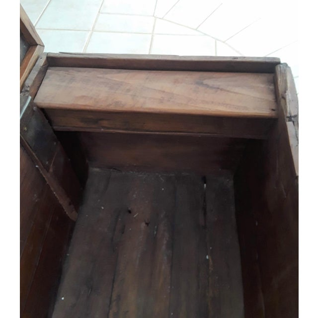 1980s Javanese Teak Wood Chest For Sale - Image 11 of 13