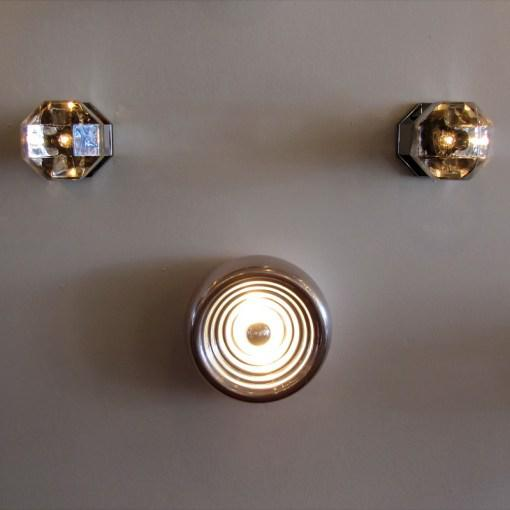 "Castiglioni ""Padina"" Wall Lights - A Pair For Sale - Image 9 of 10"