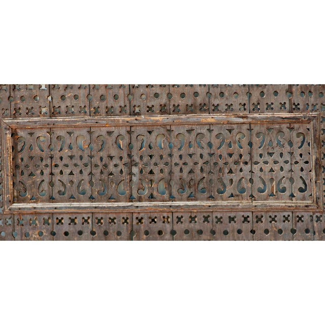 Islamic 1950s Vintage Egyptian Window Screen For Sale - Image 3 of 5
