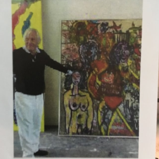 Peter Keil Cubist Profile Abstract Paintings - a Pair For Sale - Image 10 of 12