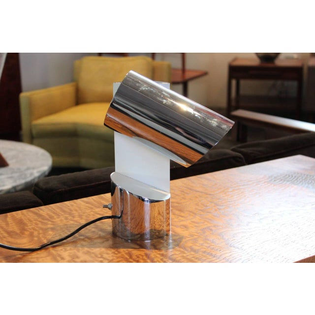 Pivoting Table Lamp by Arredoluce For Sale - Image 9 of 10
