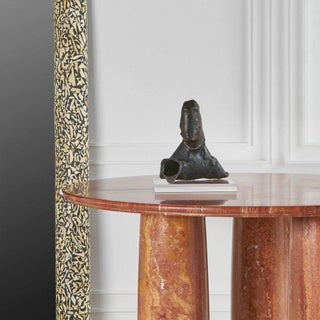 Red Persian Travertine II Colonnato Dining Table by Mario Bellini for Cassina, 1979 Preview