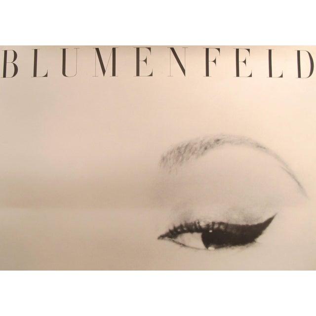 Contemporary 1980s Erwin Blumenfeld Exhibition Poster, Doe Eye (Oeil De Biche) For Sale - Image 3 of 5