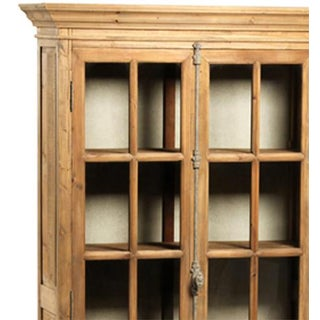 Reclaimed Pine Glass Door Cabinet Preview