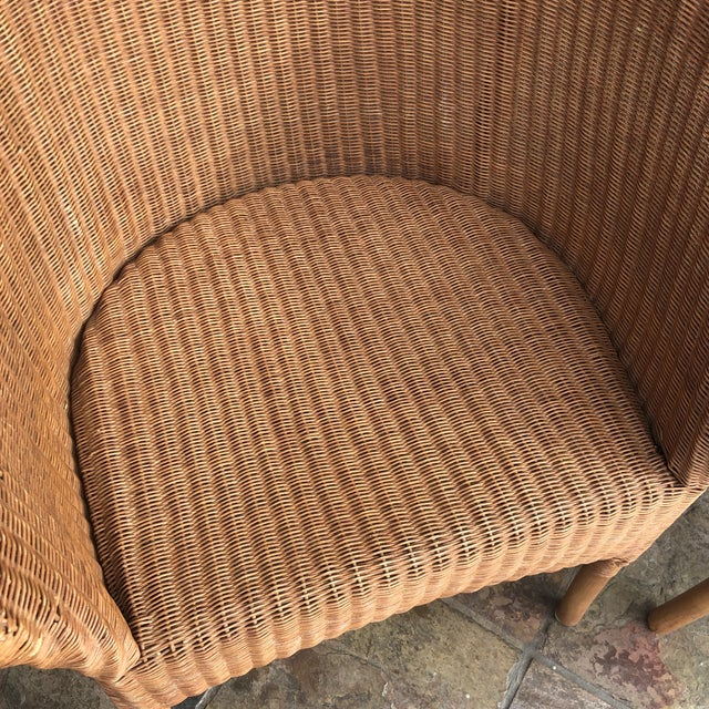 Palecek Rattan Bistro Chairs - Set of 3 For Sale In San Francisco - Image 6 of 9