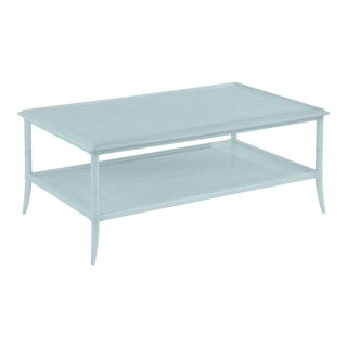 Paxton Rectangular Cocktail Table, Smoke For Sale