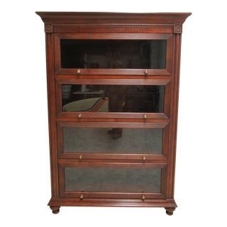 Traditional Ethan Allen Barrister Bookcase For Sale