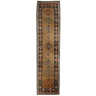 Early 20th Century Azari Kilim Runner - 4′3″ × 16′9″