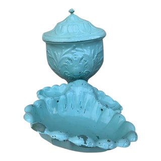 Antique French Lavabo Fountain-A Pair For Sale