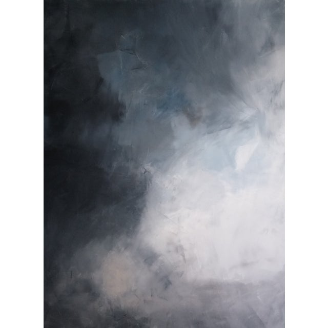 """""""Storm Clouds"""" Abstract Art by Kris Gould - Image 1 of 5"""