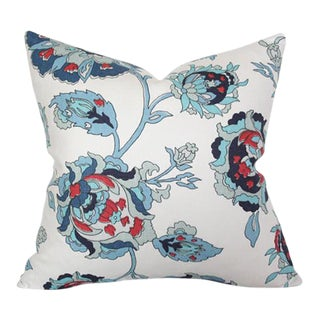 "Iznik Oasis Santorini Pillow Cover 18""sq"