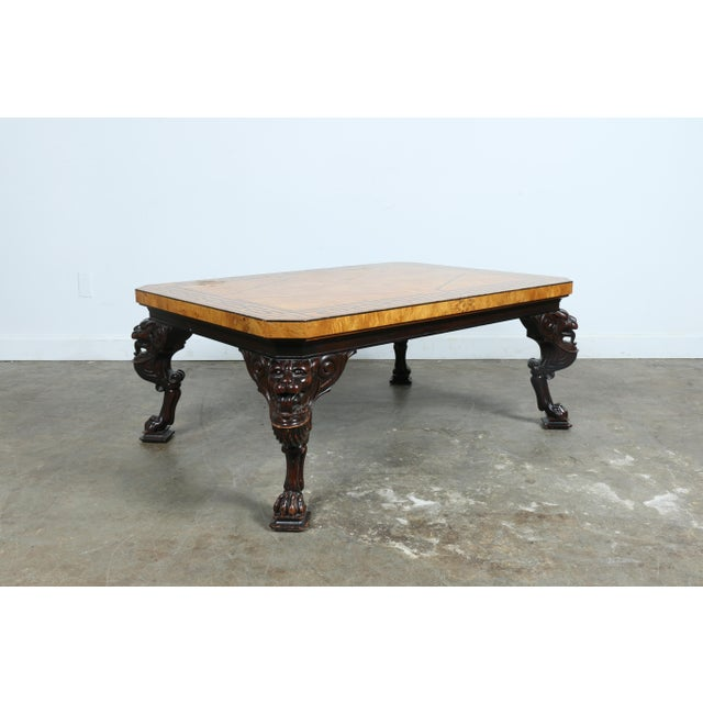 Baker Burlwood Coffee Table - Image 9 of 11