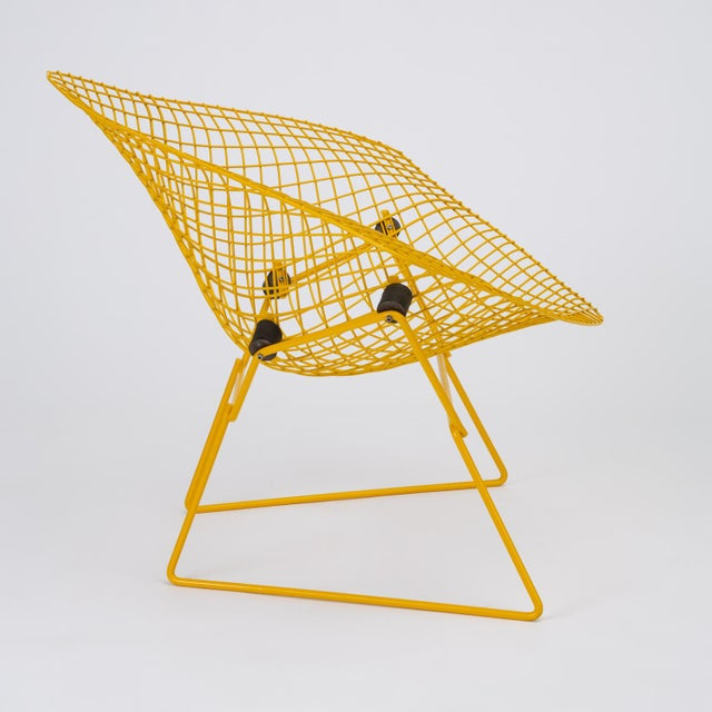 Rocking Diamond Chair by Harry Bertoia For Sale - Image 9 of 12