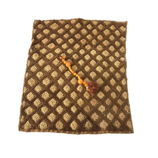 Kuba Cloth Velvet Cut Pile Raffia Zaire For Sale