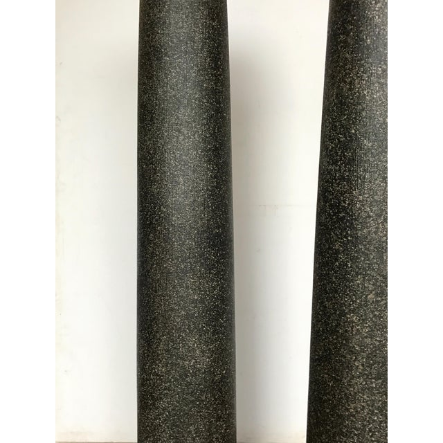 18th Century Neoclassical Faux Porphyry Columns - a Pair For Sale - Image 4 of 5
