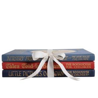 Vintage Children's Book Gift Set: Travelship Series - Set of 3