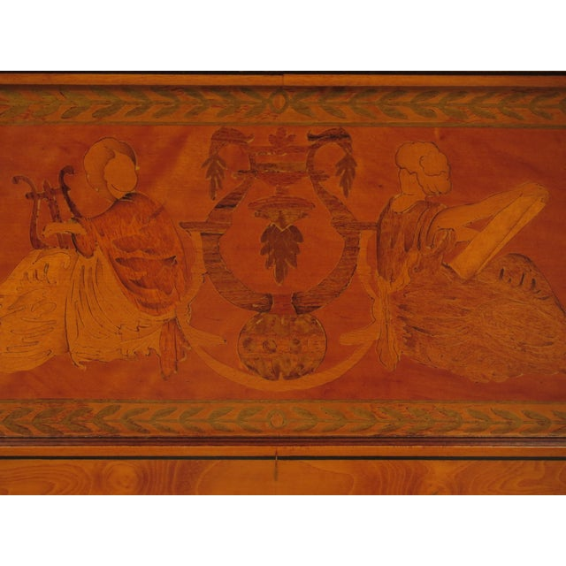 Italian Inlaid Walnut Sideboards - A Pair - Image 6 of 11