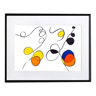 Calder, Abstract Swirls, Lithograph