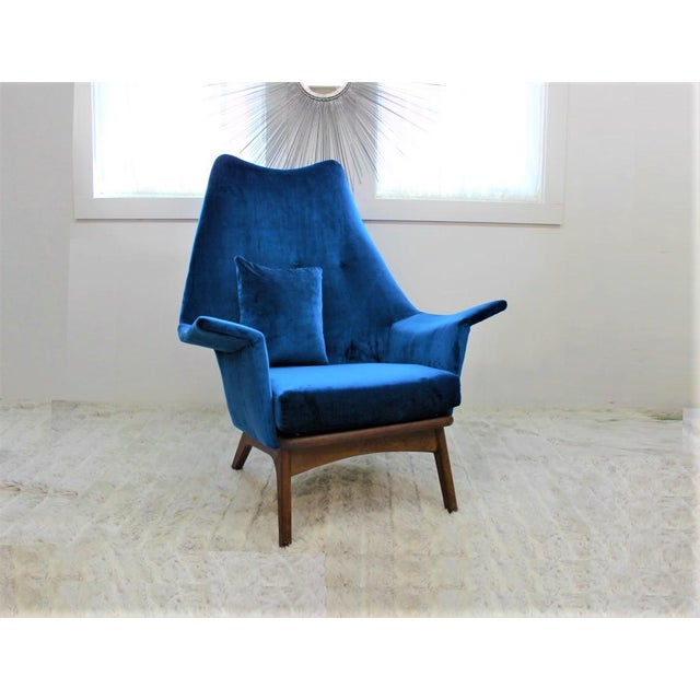 Mid Century Modern Adrian Pearsall Chair 1611-C - Image 6 of 6