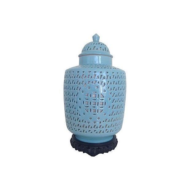 1950s Blanc De Chine Jar Lamp - Image 4 of 10