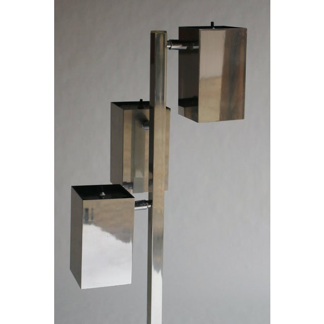 Cubism Koch & Lowy Floor Lamp For Sale - Image 3 of 10