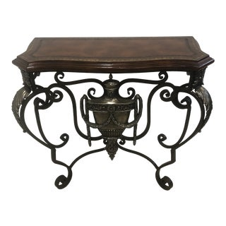 Maitland Smith Wall Mounted Console For Sale