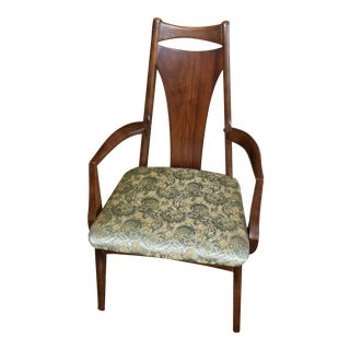 Mid Century Danish Modern Style Arm Chair For Sale