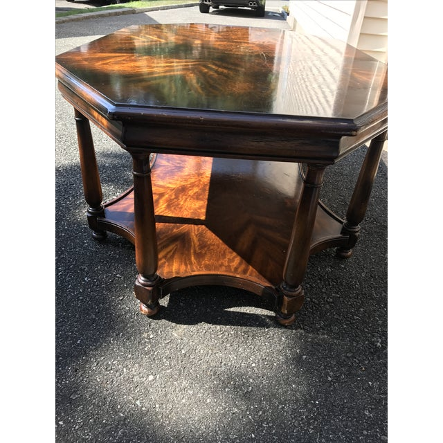 Baker Octagonal Coffee Table - Image 4 of 4