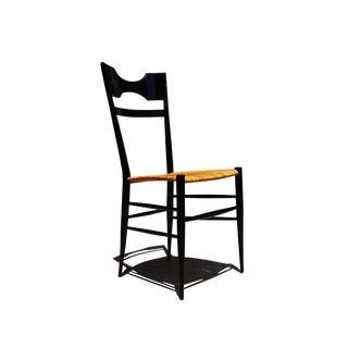 Vintage Mid-Century Modern Gio Ponti Style Chiavari Single Chair For Sale