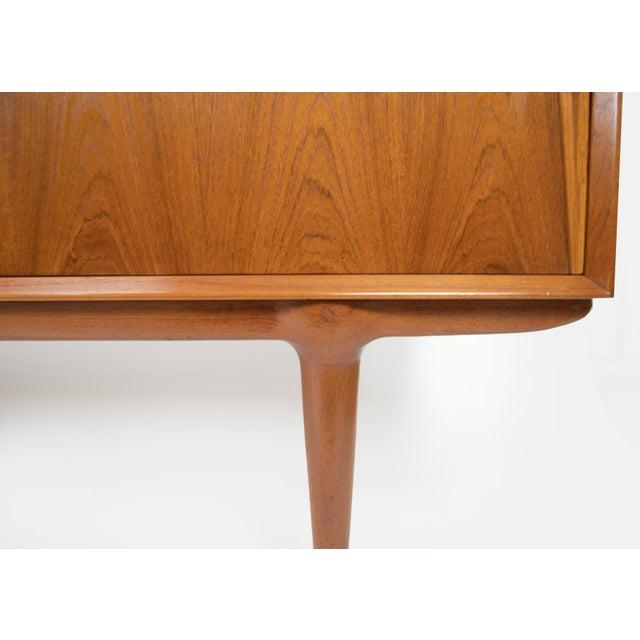 Wood 1960s Danish Modern Gunni Omann for Omann Jun Teak Credenza For Sale - Image 7 of 12