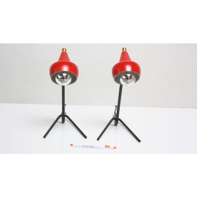 Pair of Petite Italian Table Lamps or Wall Sconces - Image 7 of 10