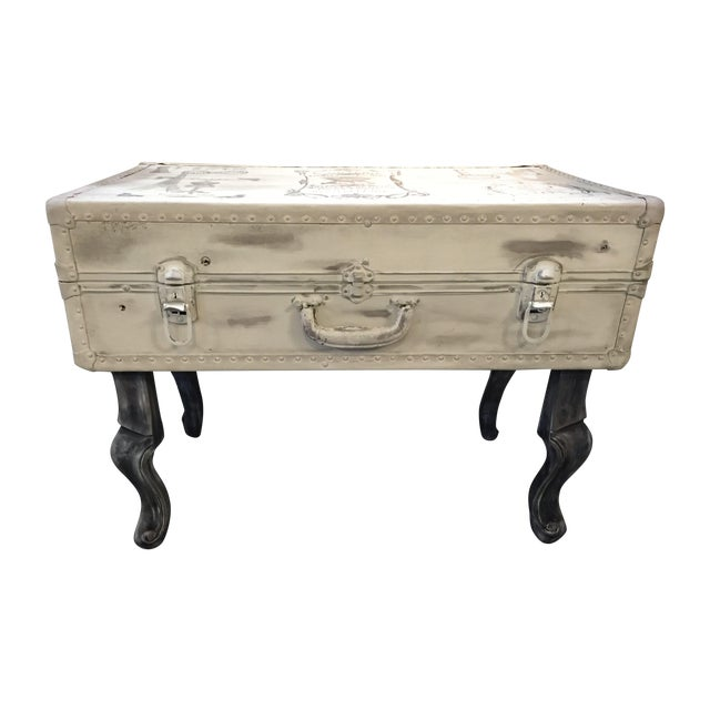 Vintage Trunk Queen Anne Coffee Table - Image 1 of 12