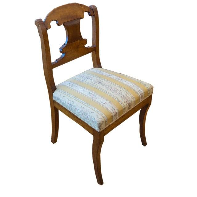 Single Biedermeier Chair For Sale - Image 4 of 7
