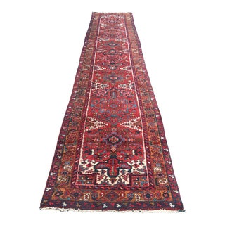 Persian Heriz Runner - 2′6″ × 16′