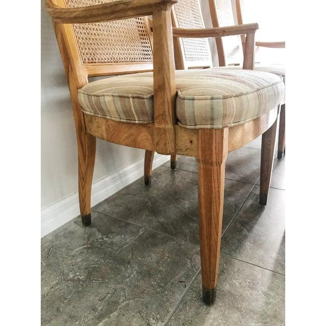 Henredon Vintage Henredon Scene Two Dining Chairs - Set of 6 For Sale - Image 4 of 10