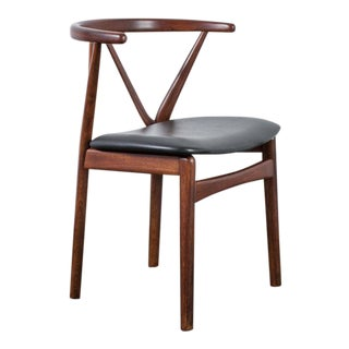 Henning Kjaernulf for Bruno Hansen Rosewood Chair