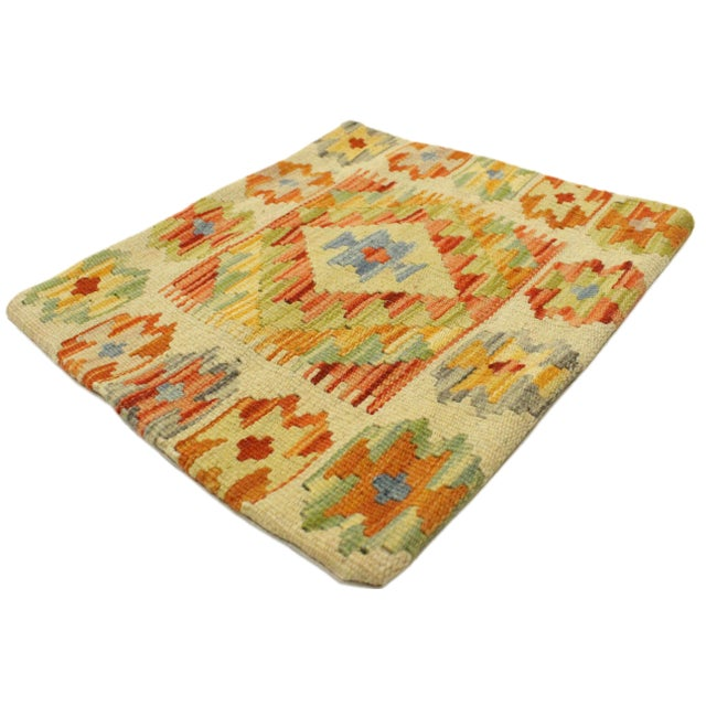 Kilim Pillow Throw Cover - Image 3 of 6