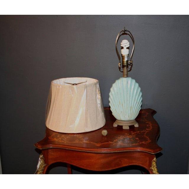 Scallop Seashell Lamp - Image 7 of 7